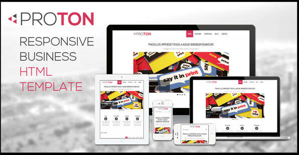 responsive website html template